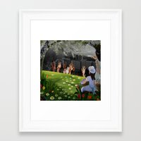 surrealism Framed Art Prints featuring Surrealism  by Brittenboa