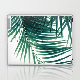 Palm Leaves Green Vibes #4 #tropical #decor #art #society6 Laptop & iPad Skin