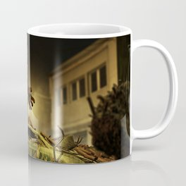 The Infernal Behemoth - Hell in The City - Fantasy  Artwork Coffee Mug