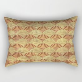 Sea shells pattern 1 Rectangular Pillow