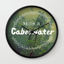 Meet me in Cabeswater Wall Clock