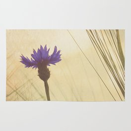FLOWER Bluebottle Rug