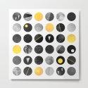 Dots / Yellow & Black by elisabethfredriksson