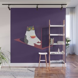 Catflix and Chill Wall Mural