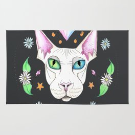 Space Kitty Rug