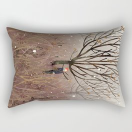 november snow Rectangular Pillow