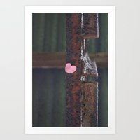Finding Love In All The Wrong Places Art Print