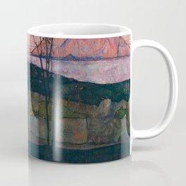 "Egon Schiele ""Setting Sun"" Coffee Mug"