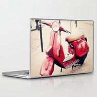 vespa Laptop & iPad Skins featuring vespa by iokk