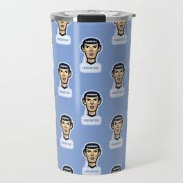 Fascinating vulcan spock - science fiction - movie quote - geek humor Travel Mug