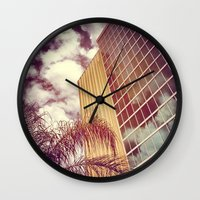 florida Wall Clocks featuring Florida by wendygray