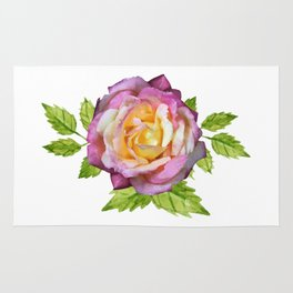 The Holiday Rose Rug