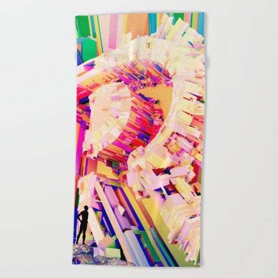 No. 26 Zine - Letter R Beach Towel