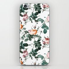 Floral and Winged Darter iPhone & iPod Skin