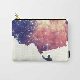 Painting the universe (Colorful Negative Space Art) Carry-All Pouch