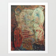 THE ABSURD 2 Art Print