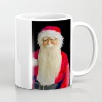 santa Mugs featuring Santa by PICSL8