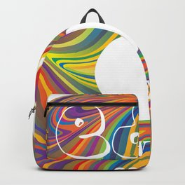 Electric Daisy Carnival Record Backpack