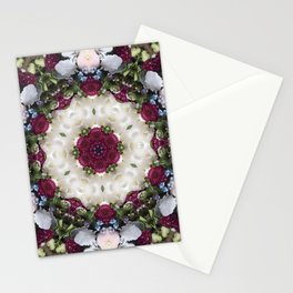 Spring Blooms Kaleidoscope Photographic Pattern #2 Stationery Cards