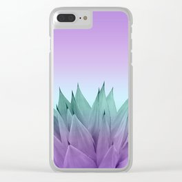 Agave Vibes #7 #tropical #decor #art #society6 Clear iPhone Case