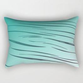 lines blue - elements Rectangular Pillow
