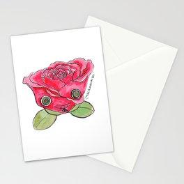 """Oro?"" Valentine's Rose Stationery Cards"