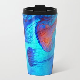 Watch the Flow of the Jelly Glow  Travel Mug