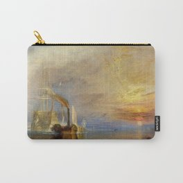 The Fighting Temeraire by J. M. W. Turner (1838) Carry-All Pouch