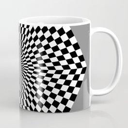 Checkered Hexagon Coffee Mug