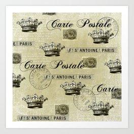 Poste Royale Art Print