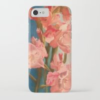 sword iPhone & iPod Cases featuring Sword Lilies by prismacupcake