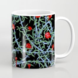 Rose with Barbed Wire Coffee Mug