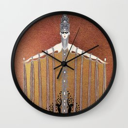"""Design in Art-Deco Style """"Adoration"""" Wall Clock"""