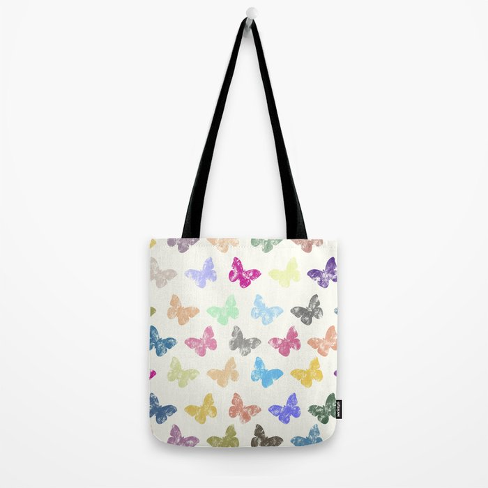 Colorful butterflies Tote Bag