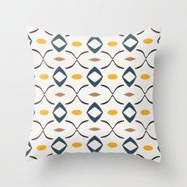 Seuss simplistic modern pattern Throw Pillow