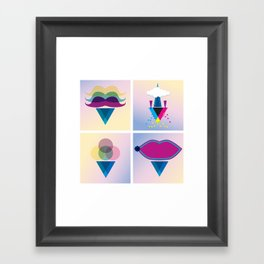 C.M.Y Framed Art Print