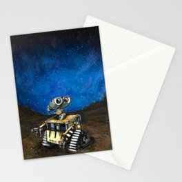 Wall-E Meets the Stars Stationery Cards