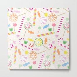 Candys texture Metal Print