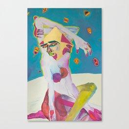 Madonna Cut Canvas Print