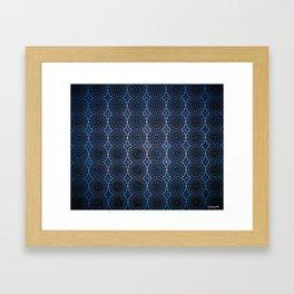 INSIDEOUT/Dark Blue Framed Art Print