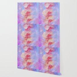 Rosa Orchideen Wallpaper