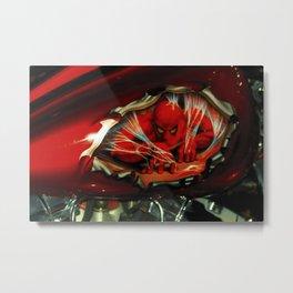 Spidy Metal Print