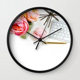 Hues of Design - 1029 Wall Clock