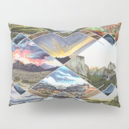 Diamond Mountains Pillow Sham