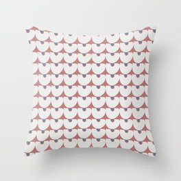 Half Moon Modern Minimalism Pattern Throw Pillow