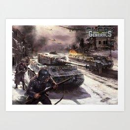 Glory of Generals poster Art Print