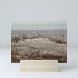 Sand Dune with Sea Oats Mini Art Print