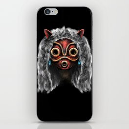 The Wolf Princess iPhone Skin