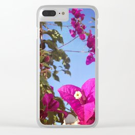 #237 #Hope is alive / #Bouganvillea Clear iPhone Case