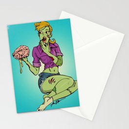 Girls Just Want Me 4 My Brains Stationery Cards